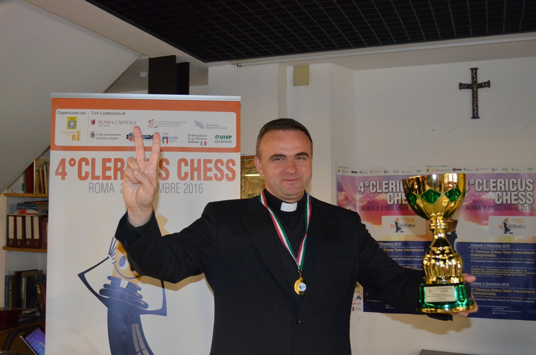 Vincitore clericus chess